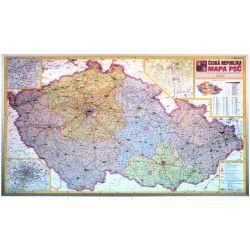 Postleitzahlenkarte Tschechien 1:440.000