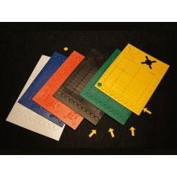 Set verschiedene magnete in 6 farben (78 magnete)*