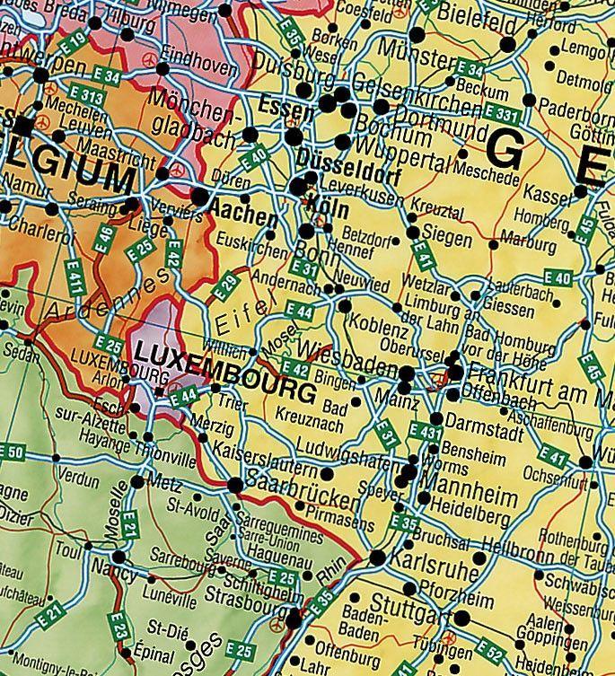 Europakaart A
