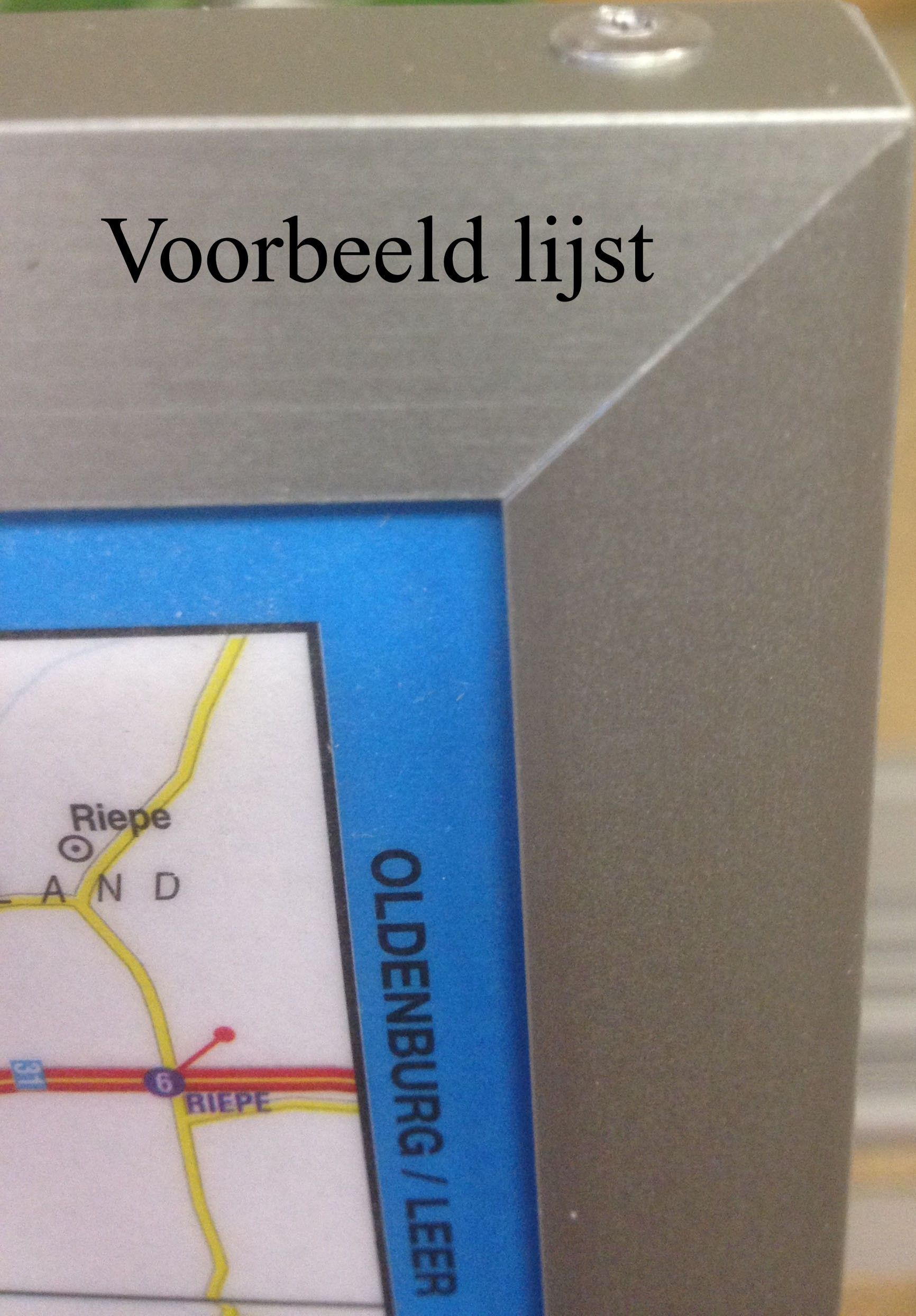 Landkaart Zweden