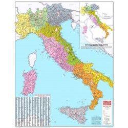 Postleitzahlenkarte Italiën 1:1.000.000