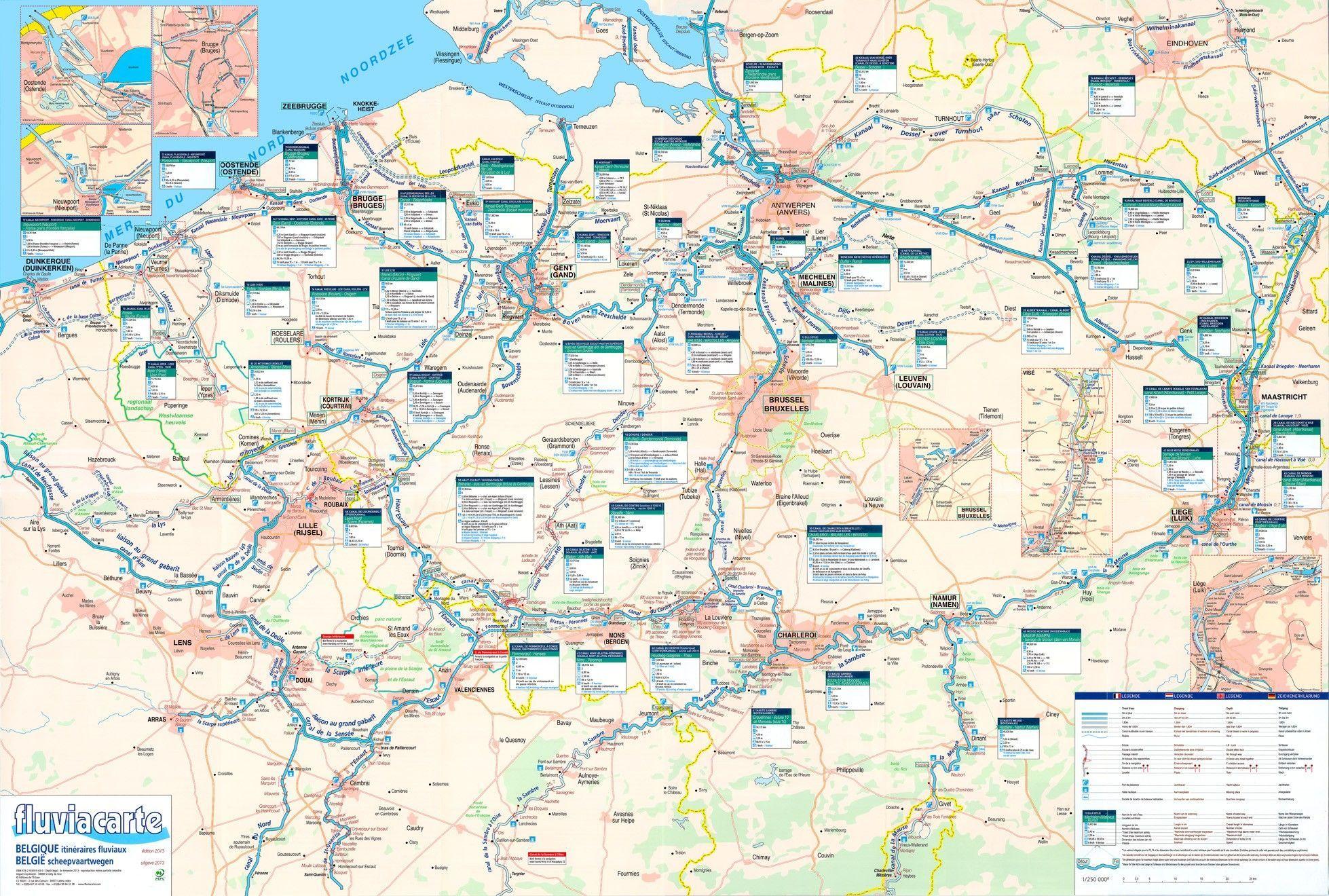 Waterwegen Belgie