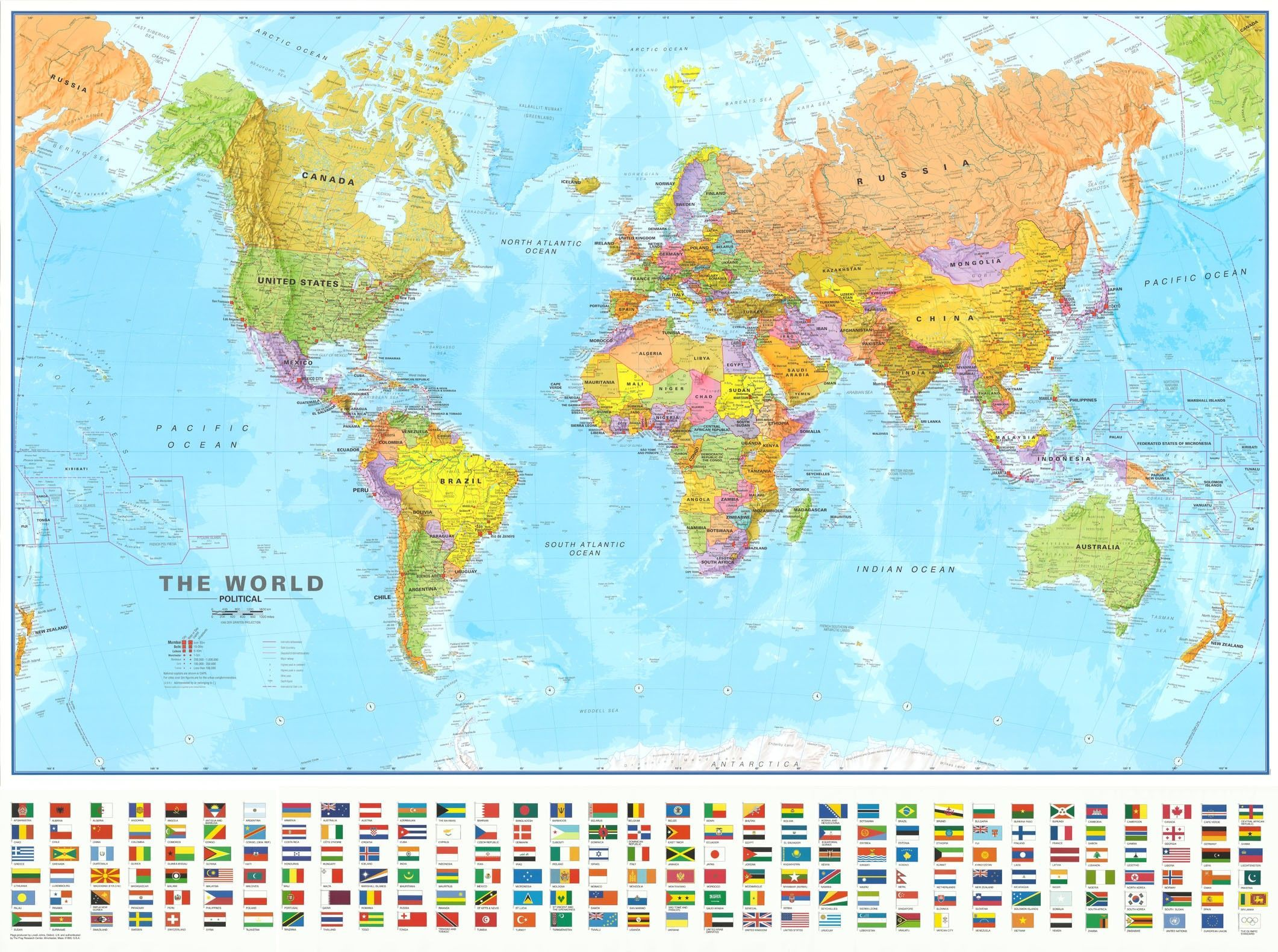 Wereldkaart M