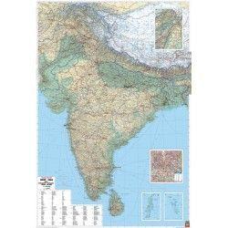 Landkarte Indien 1:2.750.000