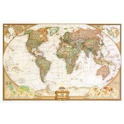 Wereldkaart E Antiek