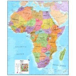 Kontinentkarte  Afrika 1:8.000.000
