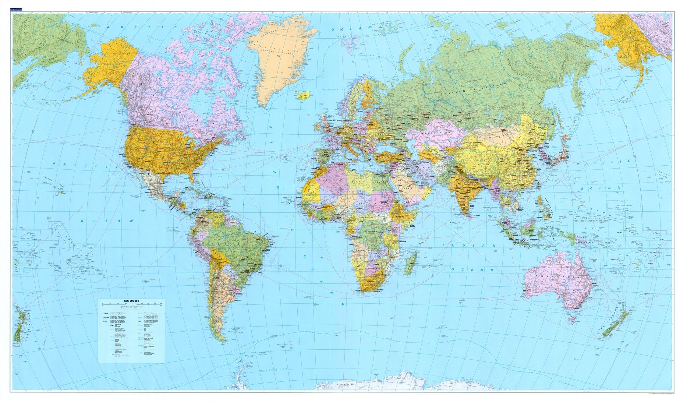 Wereldkaart C