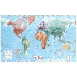 Weltkarte B 1:30.000.000