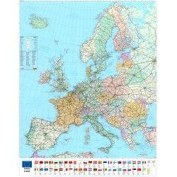 Europakarte  E 1:3.600.000
