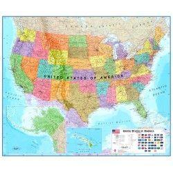 Landkarte Vereinigte Staaten (Maps) 1:4.250.000
