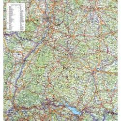Regionkarte Baden-Wurttemberg
