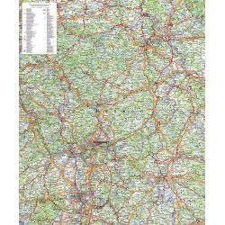 Regionkarte Hessen