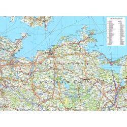 Regionkarte Mecklenburg-Vorpommern