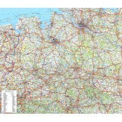 Regionkarte Niedersachsen-Bremen