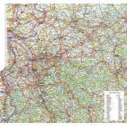 Regionkarte Nordrhein-Westfalen