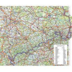 Regionkarte Sachsen