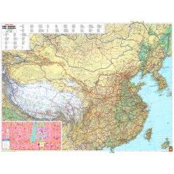 Landkarte China 1:4.000.000
